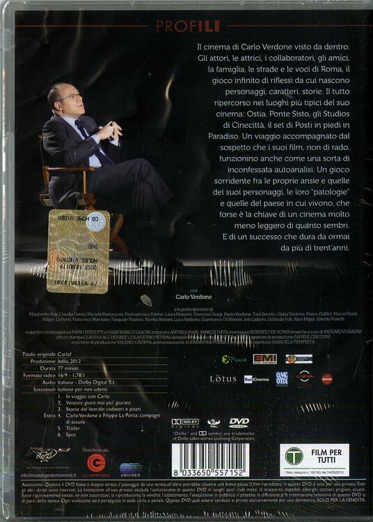 Carlo! di Gianfranco Giagni,Fabio Ferzetti - DVD - 2