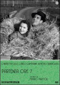 Cover Dvd Partenza ore sette (DVD)