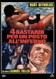 Cover Dvd Quattro bastardi per un posto all'inferno
