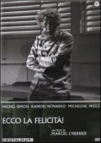 Cover Dvd Ecco la felicità (DVD)