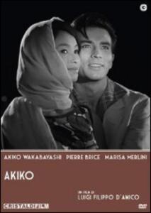 Akiko di Luigi Filippo D'Amico - DVD