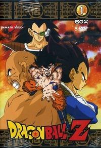 Cover Dvd Dragon Ball Z. Box 01