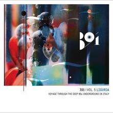 391 vol.5 Liguria: Voyage Through the Deep 80s Underground in Italy - CD Audio