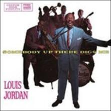 Somebody Up There Digs Me - Vinile LP + CD Audio di Louis Jordan