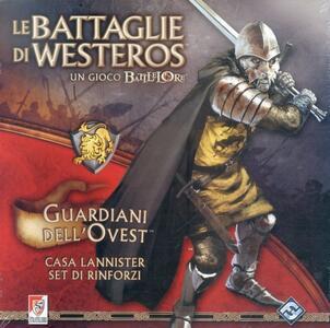 Espansione per Le battaglie di Westeros. Guardiani dell'ovest - 2