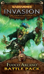 Giocattolo Warhammer Lcg Invasion Ed It. Fuoco Arcano Giochi Uniti 0