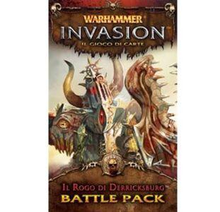 Giocattolo Warhammer Lcg Invasion Ed It. Il Rogo di Derricksburg Giochi Uniti