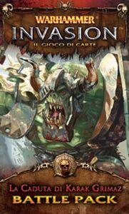 Giocattolo Warhammer Lcg Invasion Ed It. La Caduta di Karak Grimaz Giochi Uniti