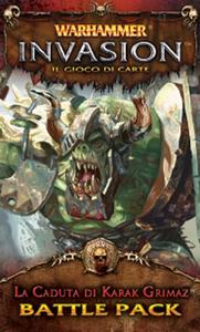 Giocattolo Warhammer Lcg Invasion Ed It. La Caduta di Karak Grimaz Giochi Uniti 0