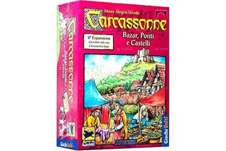 Carcassonne esp.8: Bazar Ponti e Castell - 3