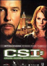 Cover Dvd CSI. Crime Scene Investigation. Stagione 7. Vol. 2