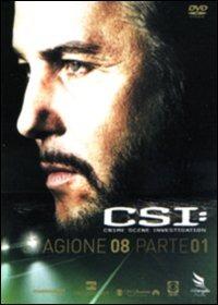 Cover Dvd CSI. Crime Scene Investigation. Stagione 8. Vol. 1