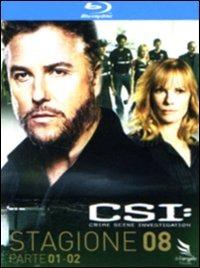 Cover Dvd CSI. Crime Scene Investigation. Stagione 8