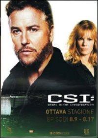 Cover Dvd CSI. Crime Scene Investigation. Stagione 8. Vol. 2