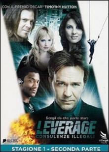 Leverage. Stagione 1. Vol. 2 (2 DVD) di Dean Devlin,Jonathan Frakes,Rod Hardy - DVD