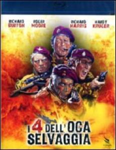 I 4 dell'Oca Selvaggia di Andrew V. McLaglen - Blu-ray