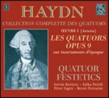 Quartetti op.9 - CD Audio di Franz Joseph Haydn