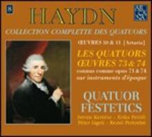 Quartetti op.73, op.74 - CD Audio di Franz Joseph Haydn