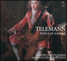 Viola di Gamba - CD Audio di Georg Philipp Telemann,Lorenz Duftschmid
