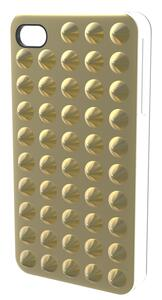 Cover Db Lab iPhone4 Gold borchie in resina