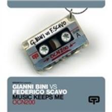 Music Keeps Me - Vinile 10'' di Federico Scavo,Gianni Bini