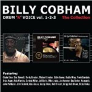 Foto Cover di Drum 'n' Voice vol.1-2-3, CD di Billy Cobham, prodotto da Distr. IRD