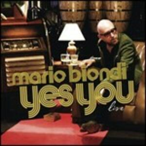 Yes You Live - CD Audio di Mario Biondi