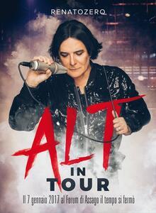 Alt in Tour - CD Audio + DVD + Blu-ray di Renato Zero
