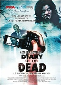 Cover Dvd Diary of the Dead. Le cronache dei morti viventi