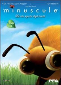 Minuscule. La vita segreta degli insetti. Vol. 4 di Thomas Szabo - DVD