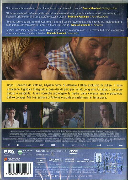 L' affido. Una storia di violenza (DVD) di Xavier Legrand - DVD - 2