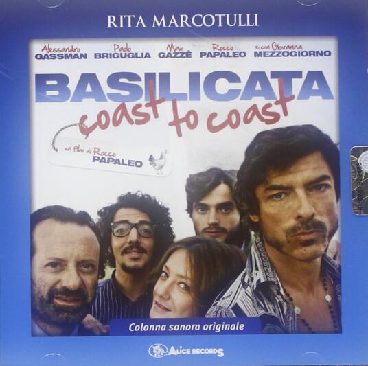 Basilicata Coast to Coast (Colonna sonora) - CD Audio di Rita Marcotulli