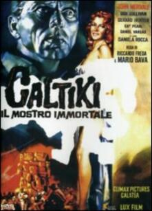 Caltiki, il mostro immortale di Riccardo Freda - DVD