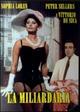 Cover Dvd La miliardaria