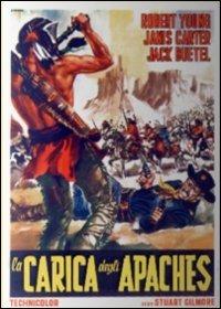 Locandina La carica degli apaches