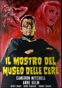 Cover Dvd mostro del museo delle cere (DVD)