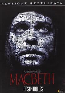 Macbeth di Orson Welles - DVD