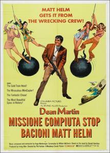 Missione compiuta stop bacioni, Matt Helm di Phil Karlson - DVD