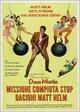 Cover Dvd Missione compiuta stop, bacioni - Matt Helm