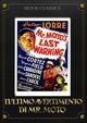 Cover Dvd DVD L'ultimo avvertimento di mr. Moto