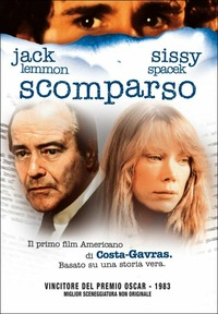 Cover Dvd Missing. Scomparso (DVD)