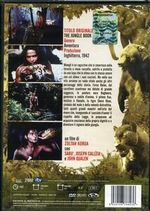 Il libro della giungla - 1942 (DVD) di Zoltan Korda - DVD - 2