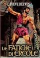 Cover Dvd DVD Le fatiche di Ercole