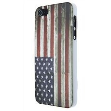 Idee regalo Custodia Wooden US Flag iPhone 5 iStuff