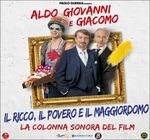 Cover CD Colonna sonora Il ricco, il povero e il maggiordomo