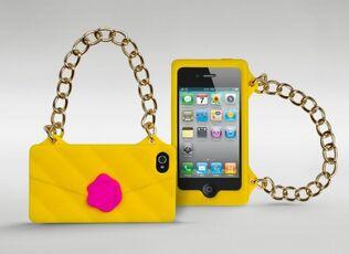 Idee regalo Cover borsetta per iPhone 4/4s Maikii