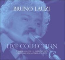 Live Collection 7 febbraio 1978 - 5 giugno 1979 - CD Audio + DVD di Bruno Lauzi