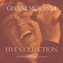 Live Collection. I Concerti Live @ Rsi 7 Luglio 1983 (Original Remastered) - CD Audio + DVD di Gianni Morandi