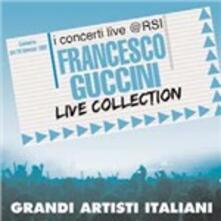 Live Collection. I concerti Live @ RSI - CD Audio + DVD di Francesco Guccini