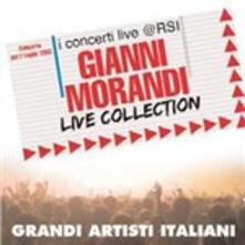 Live Collection. I concerti Live @ RSI - CD Audio + DVD di Gianni Morandi